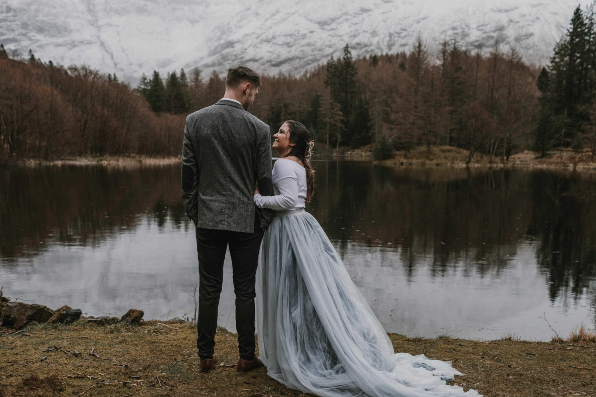 How to elope in Scotland Glencoe Adventure elopement