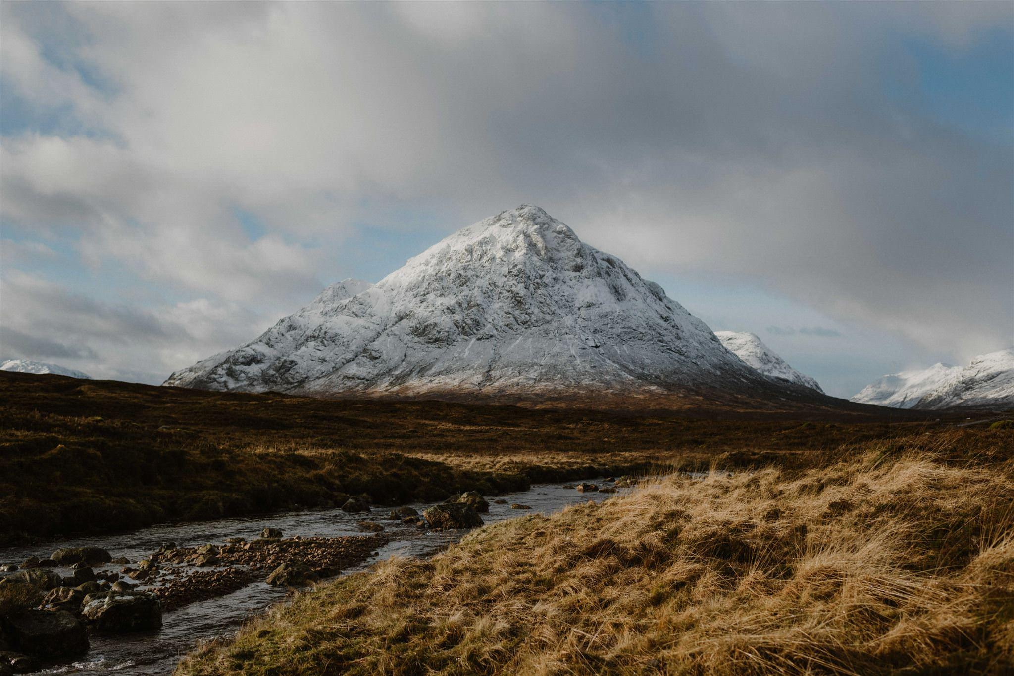 Scottish elopement photographers highlands Glencoe