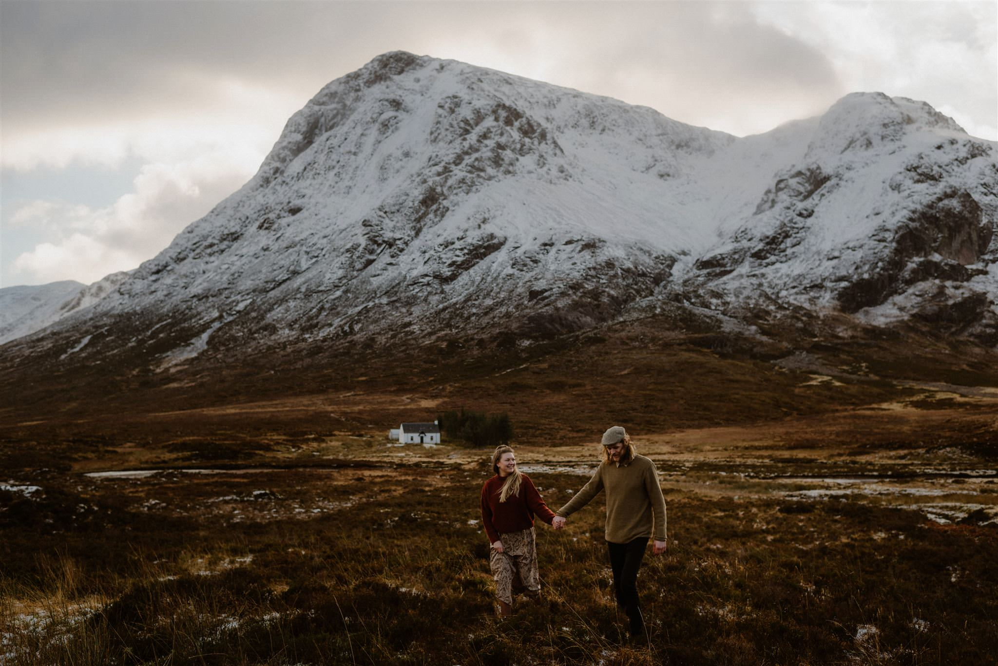 Eloping in Scotland Scottish elopement photogaphers Glencoe Highlands