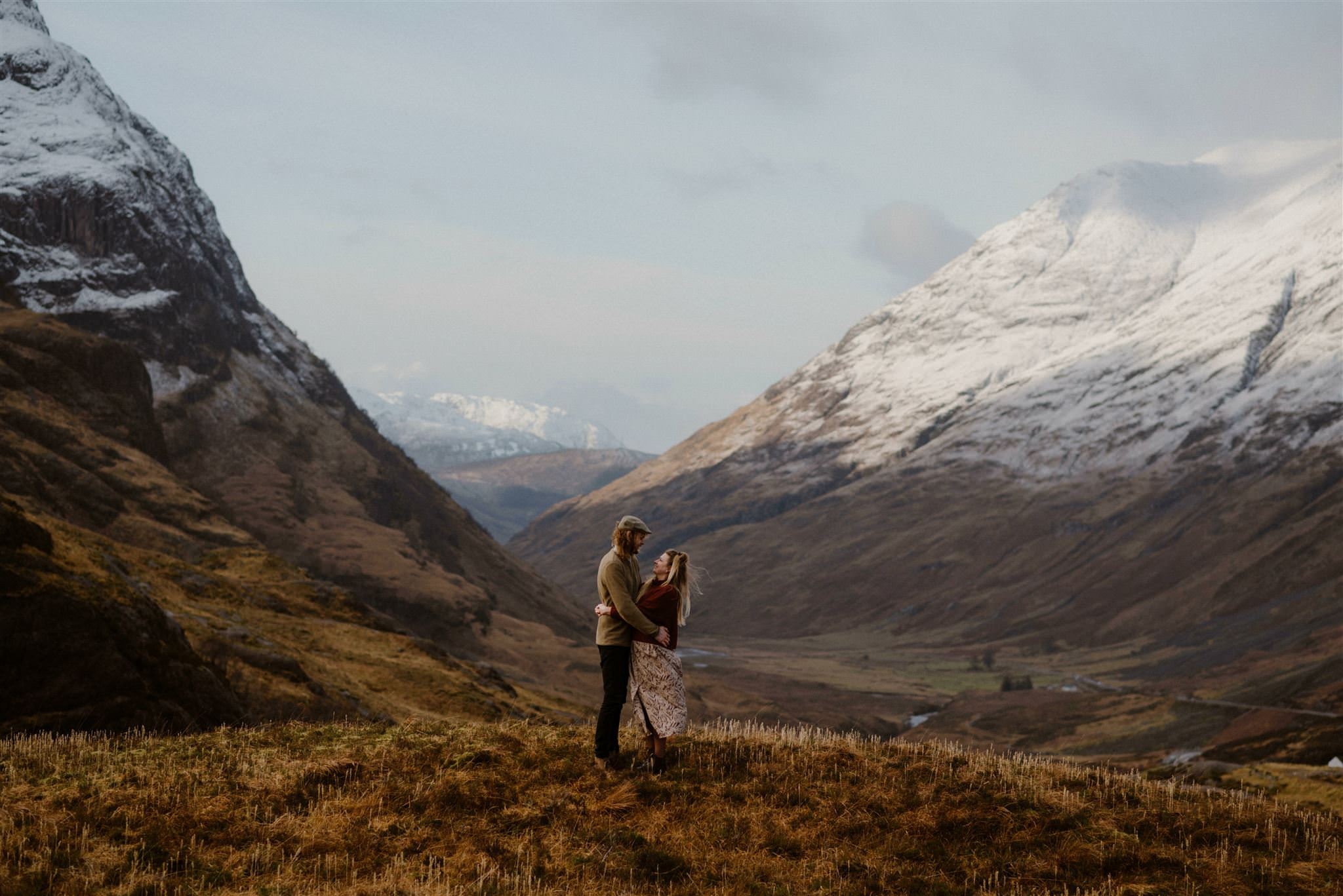 Wedding photographer Scottish Glencoe elopement