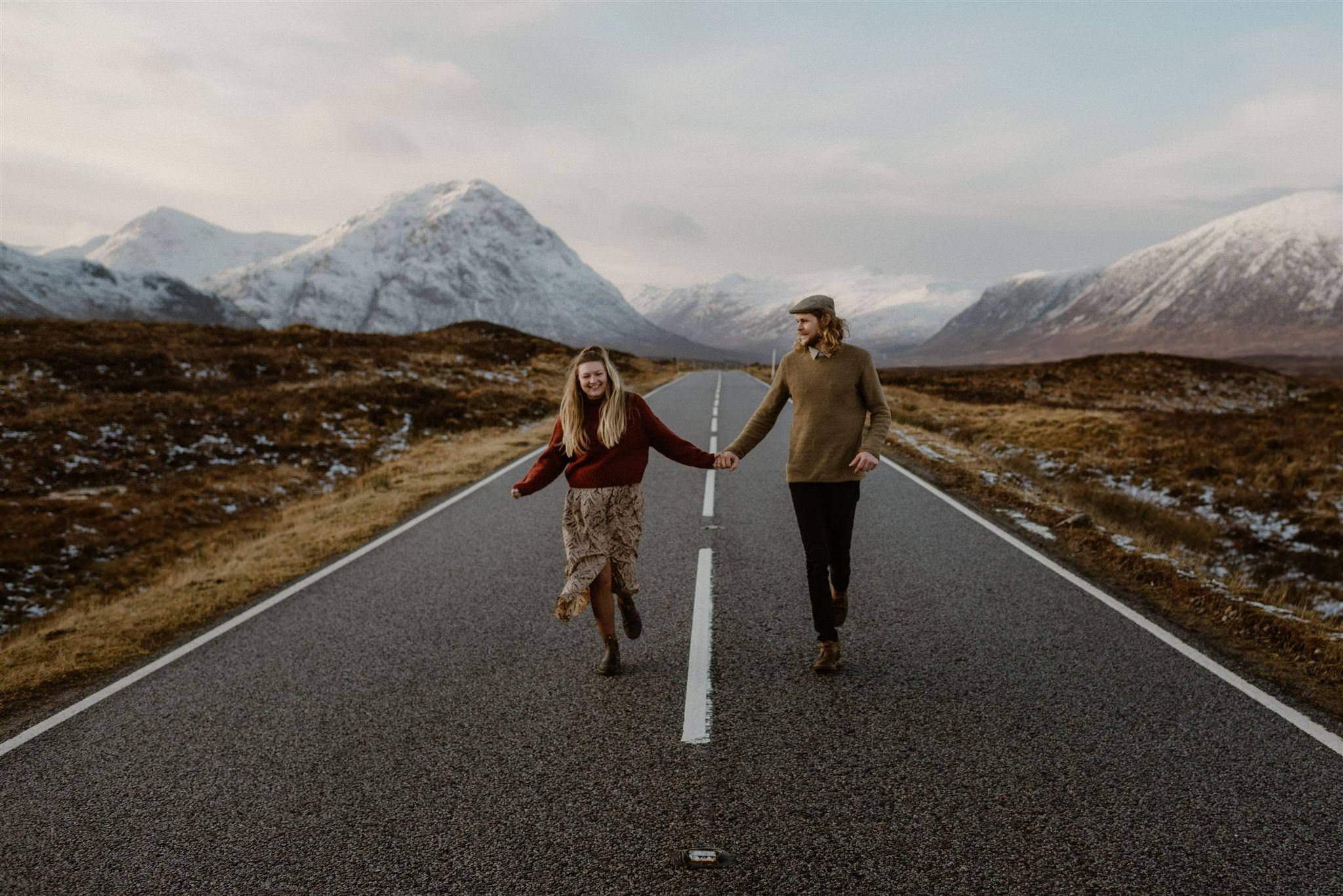 Location photographer for Glencoe Scotland elopement