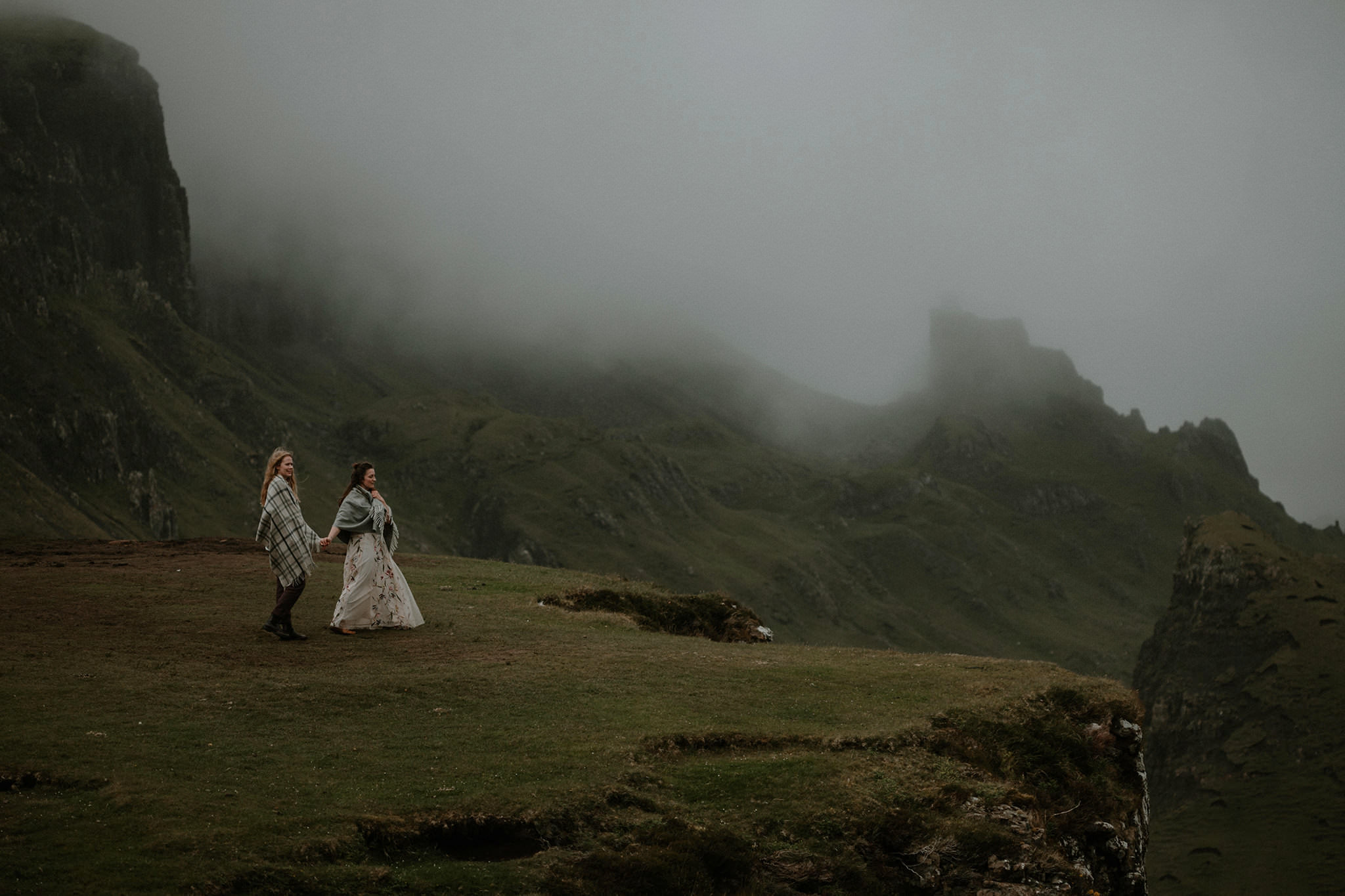 Isle of Skye Quiraing elopement