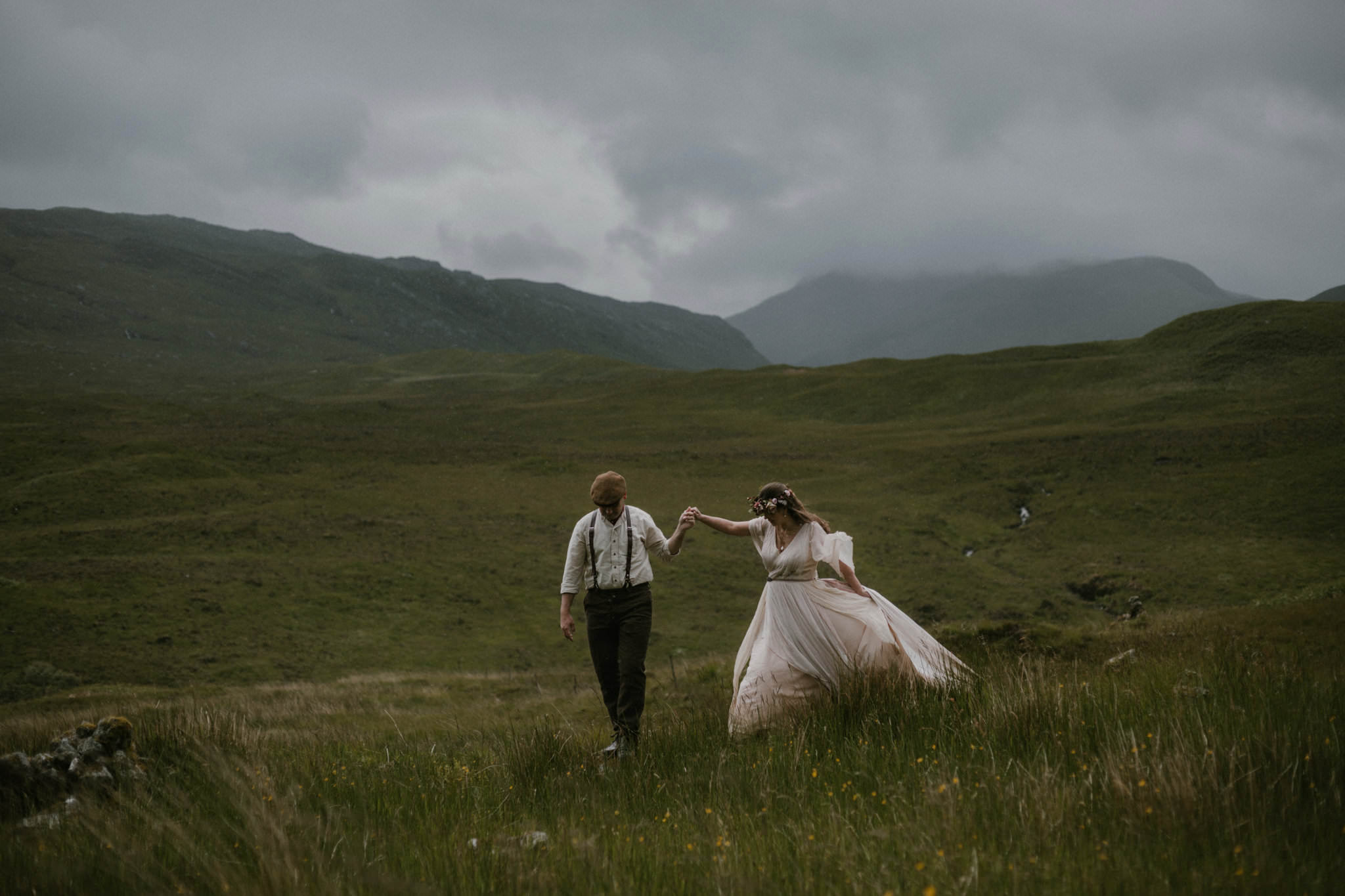 Isle of Mull elopement photography