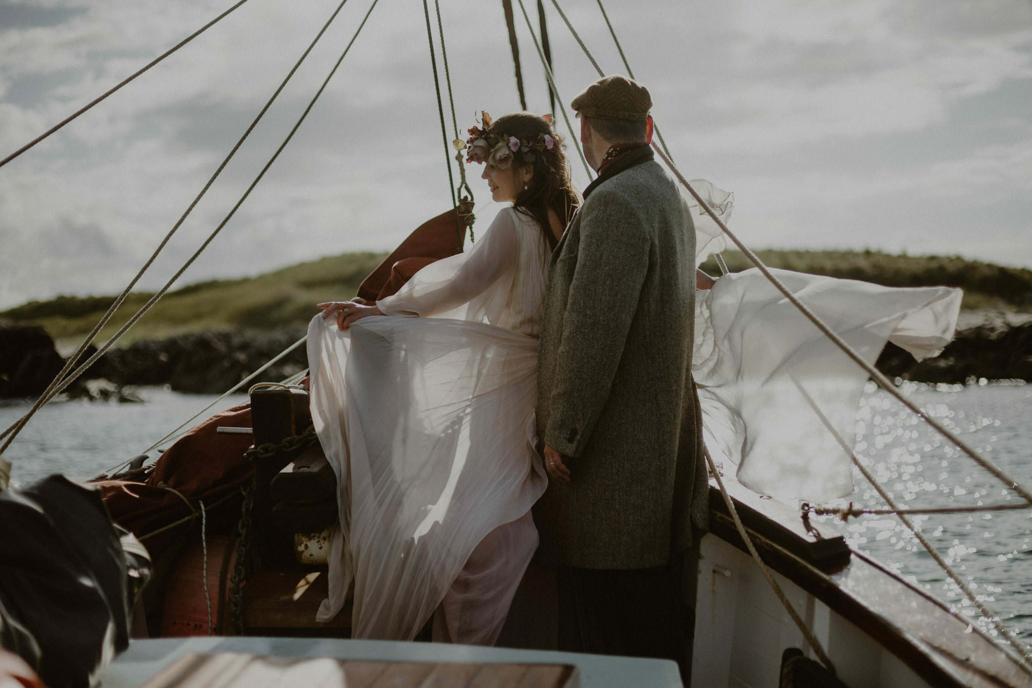 Elopement cruise for two around Mull alternative boat trips