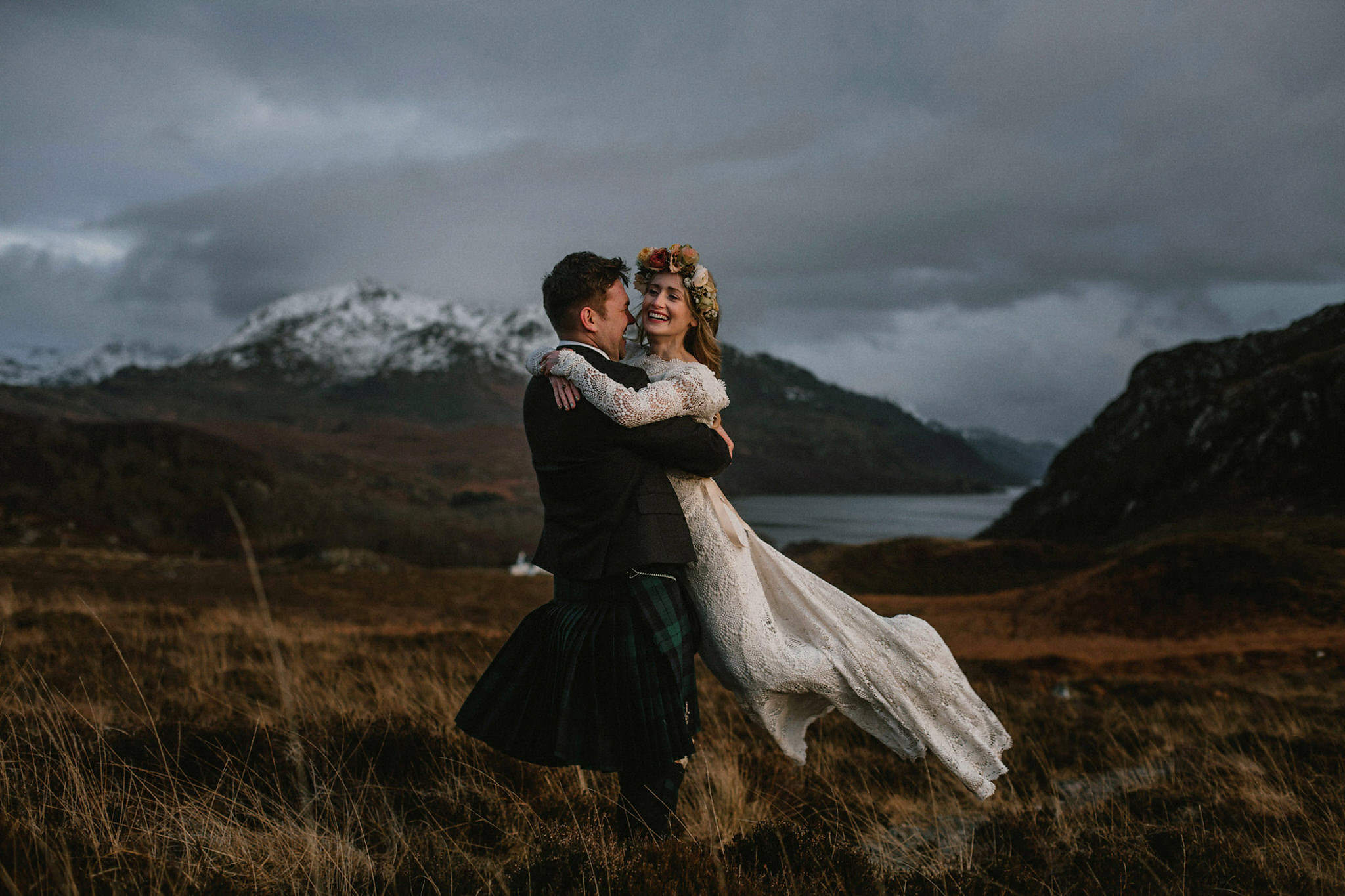 Best Scotland Highlands locations elopement for two