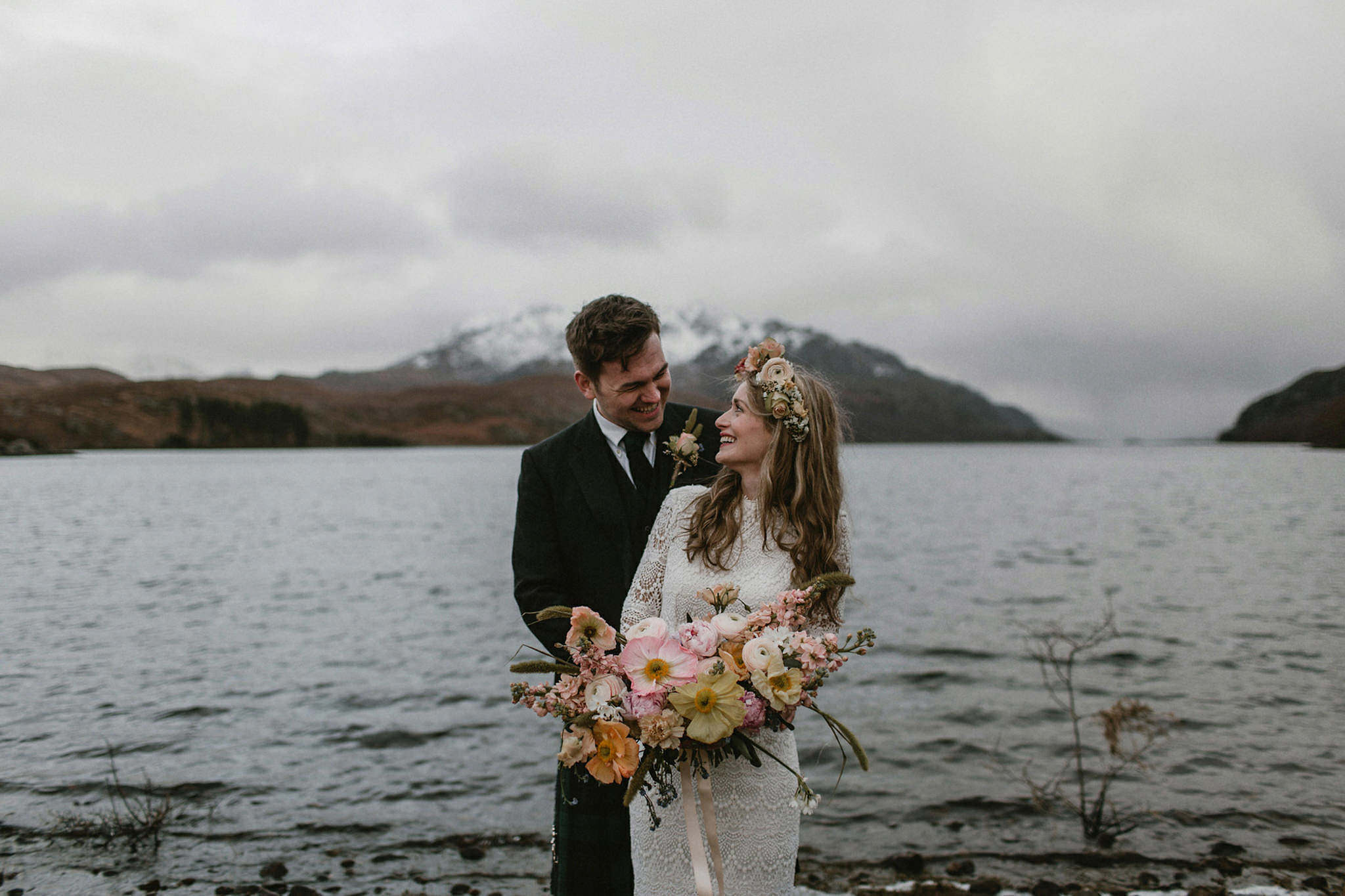 Scottish elopement inspiration Wester-Ross