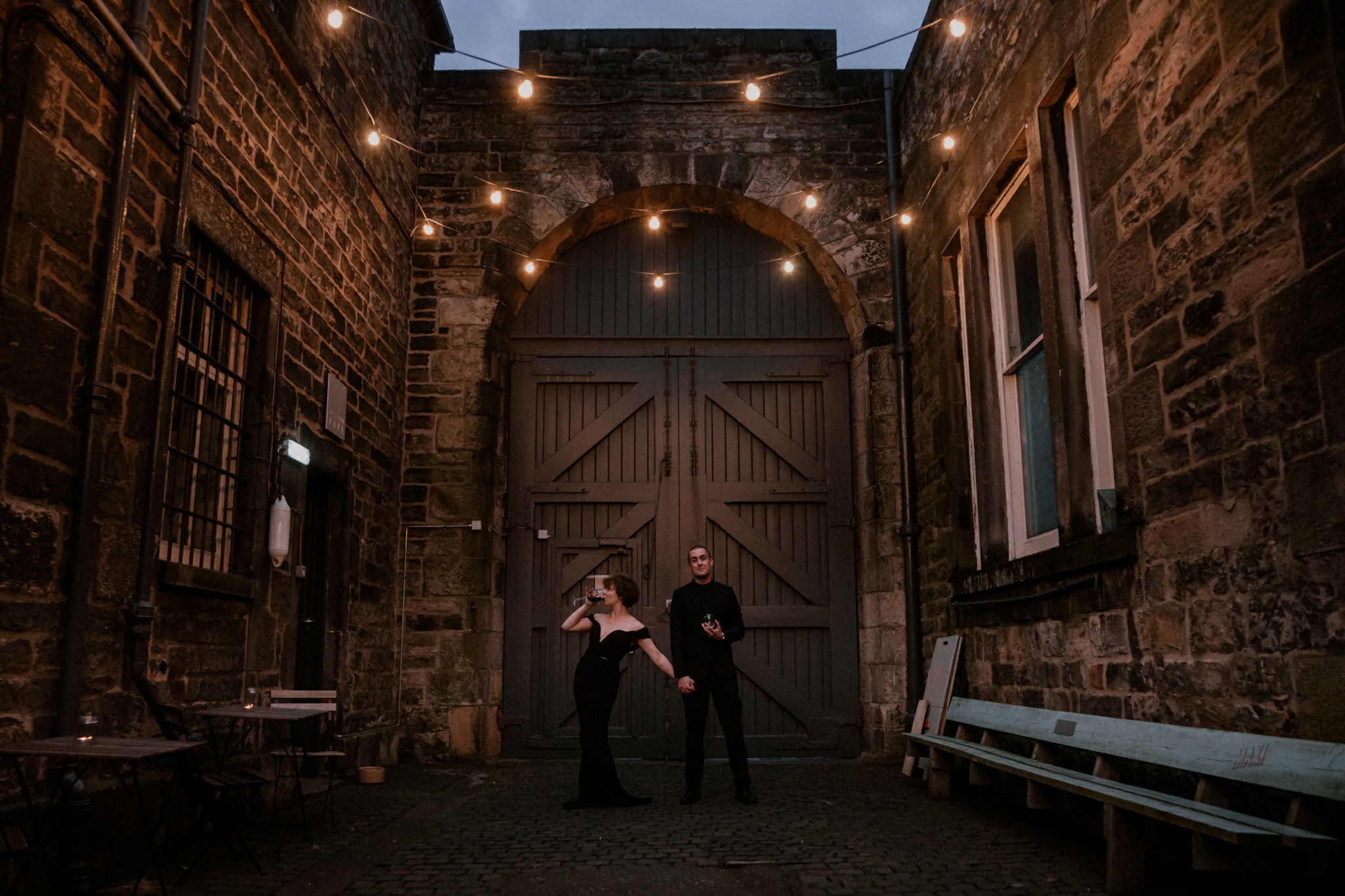 Edinburgh elopement photographer Leith
