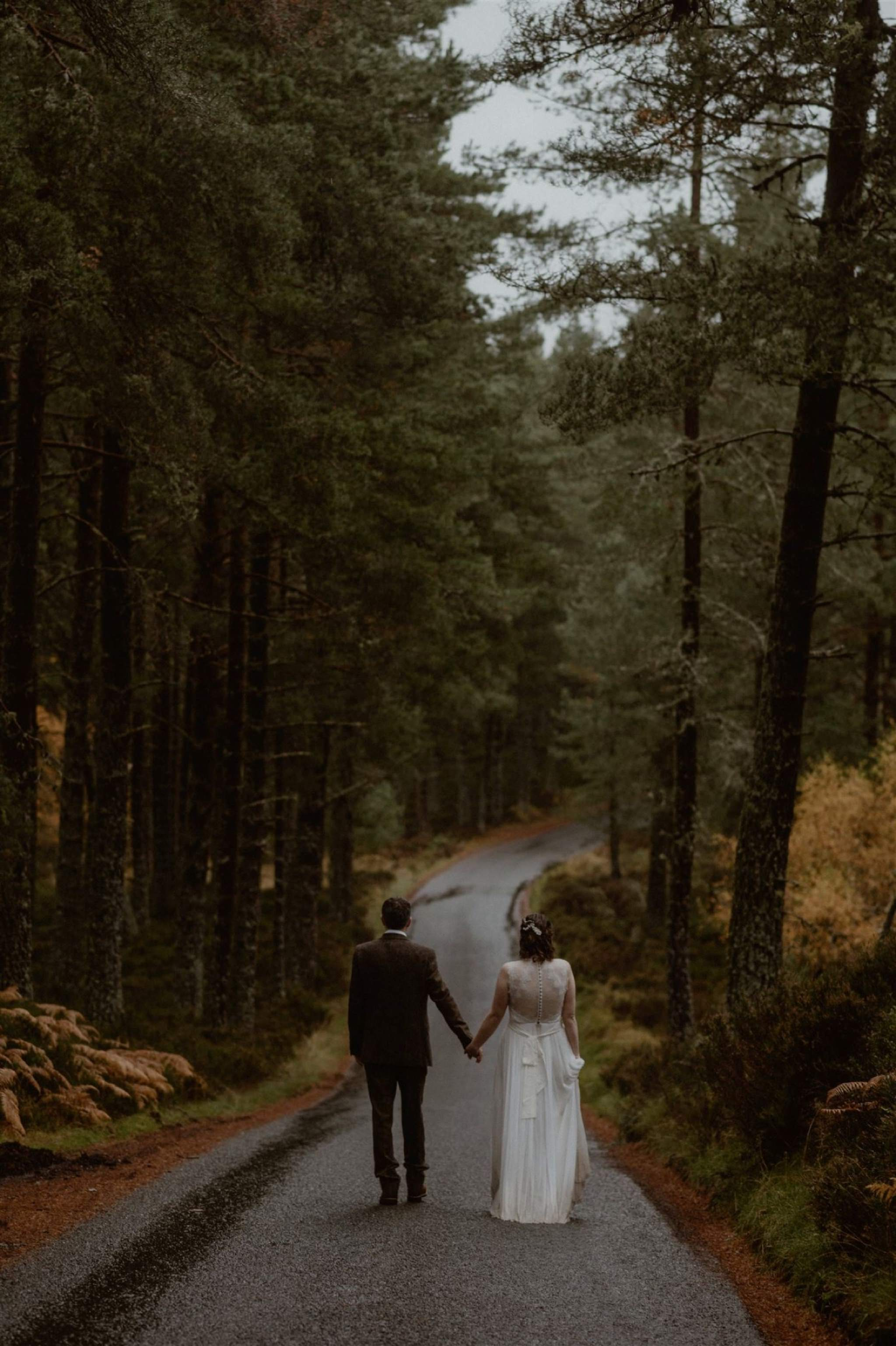 Inshriach House wedding elopement Cairngorms Scotland