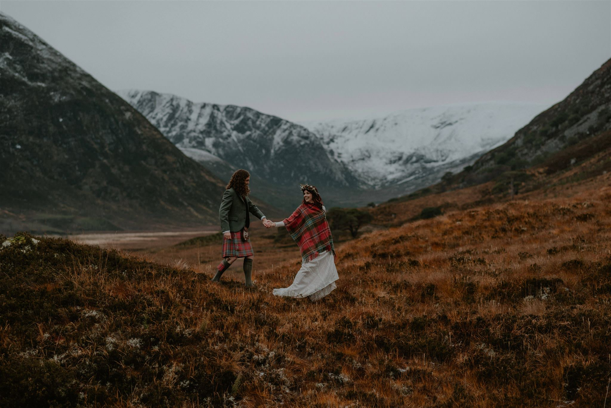 Alladale Wilderness Reserve elopement Scottish Highlands