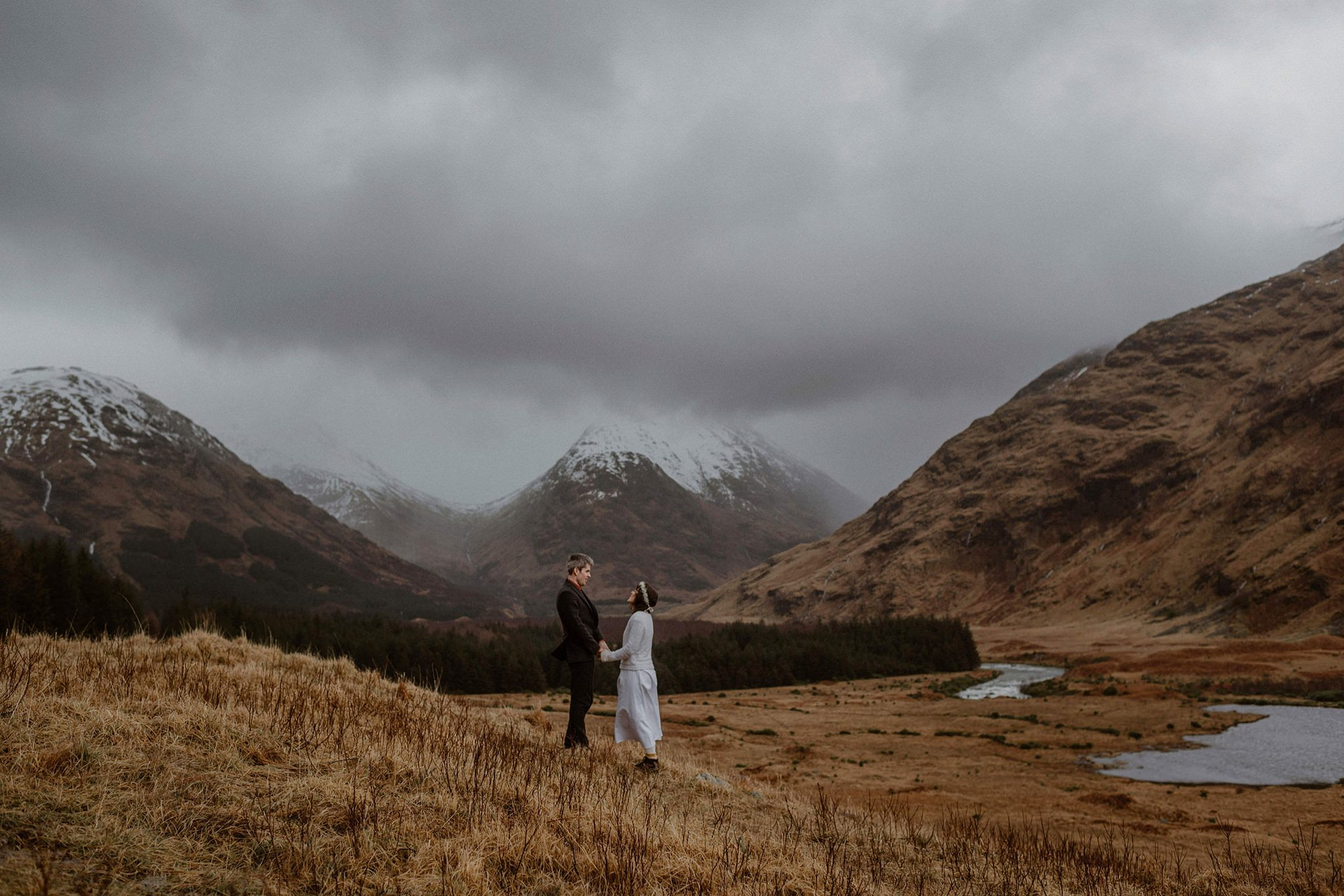Glen Etive Glencoe elope in Scotland The Caryls Photography