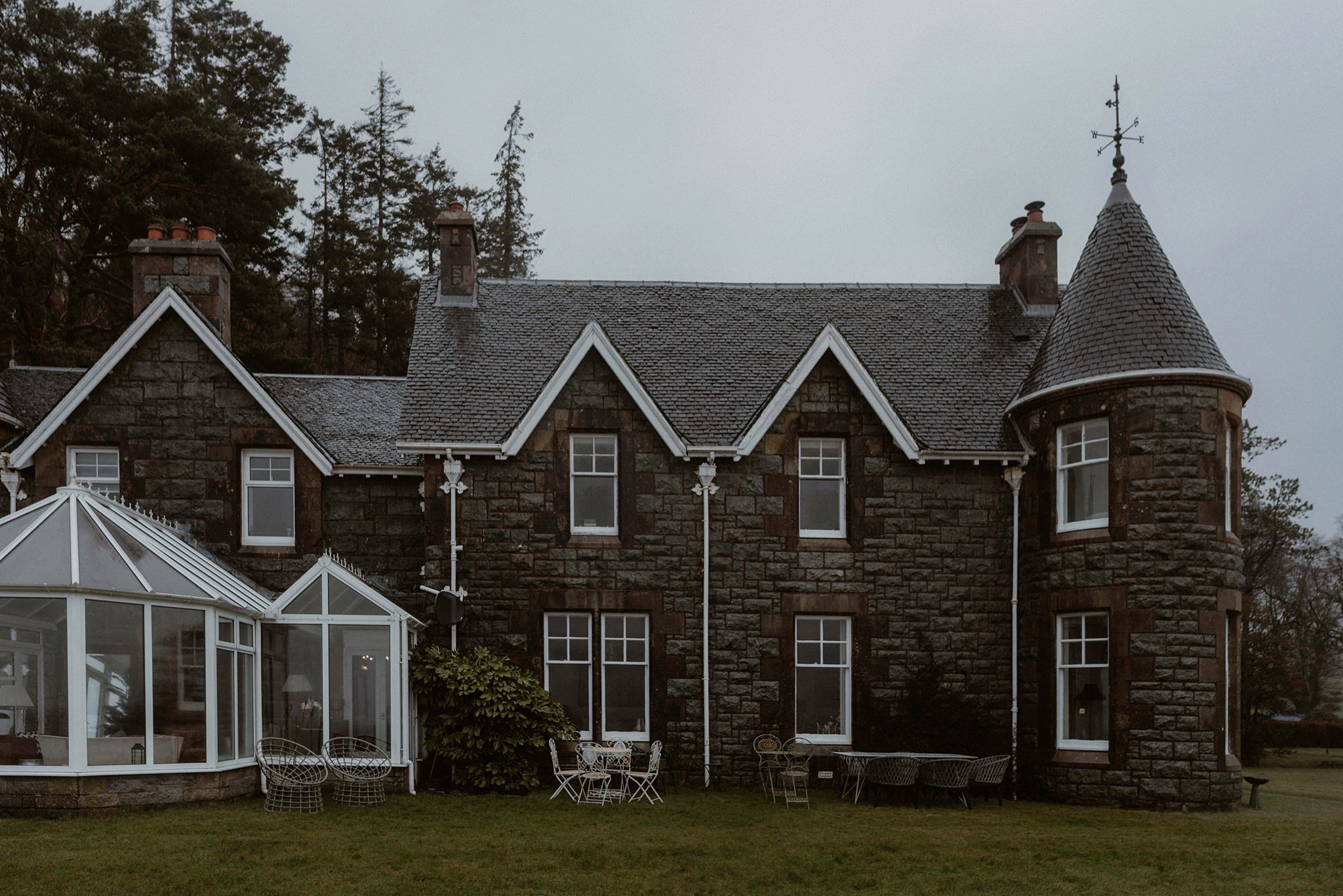 Ardrhu House Onich Glencoe weddings
