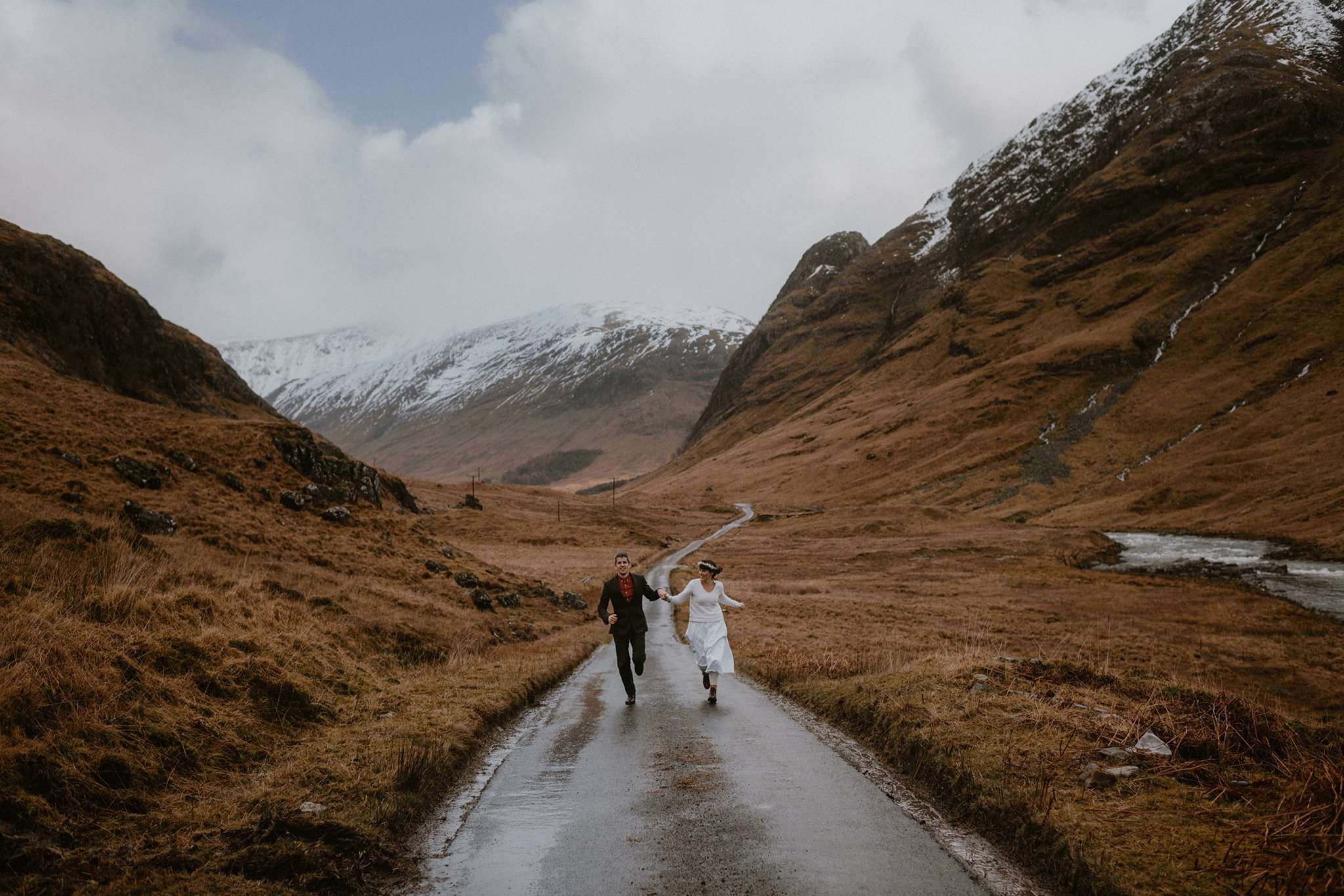 Glen Etive scottish elopement