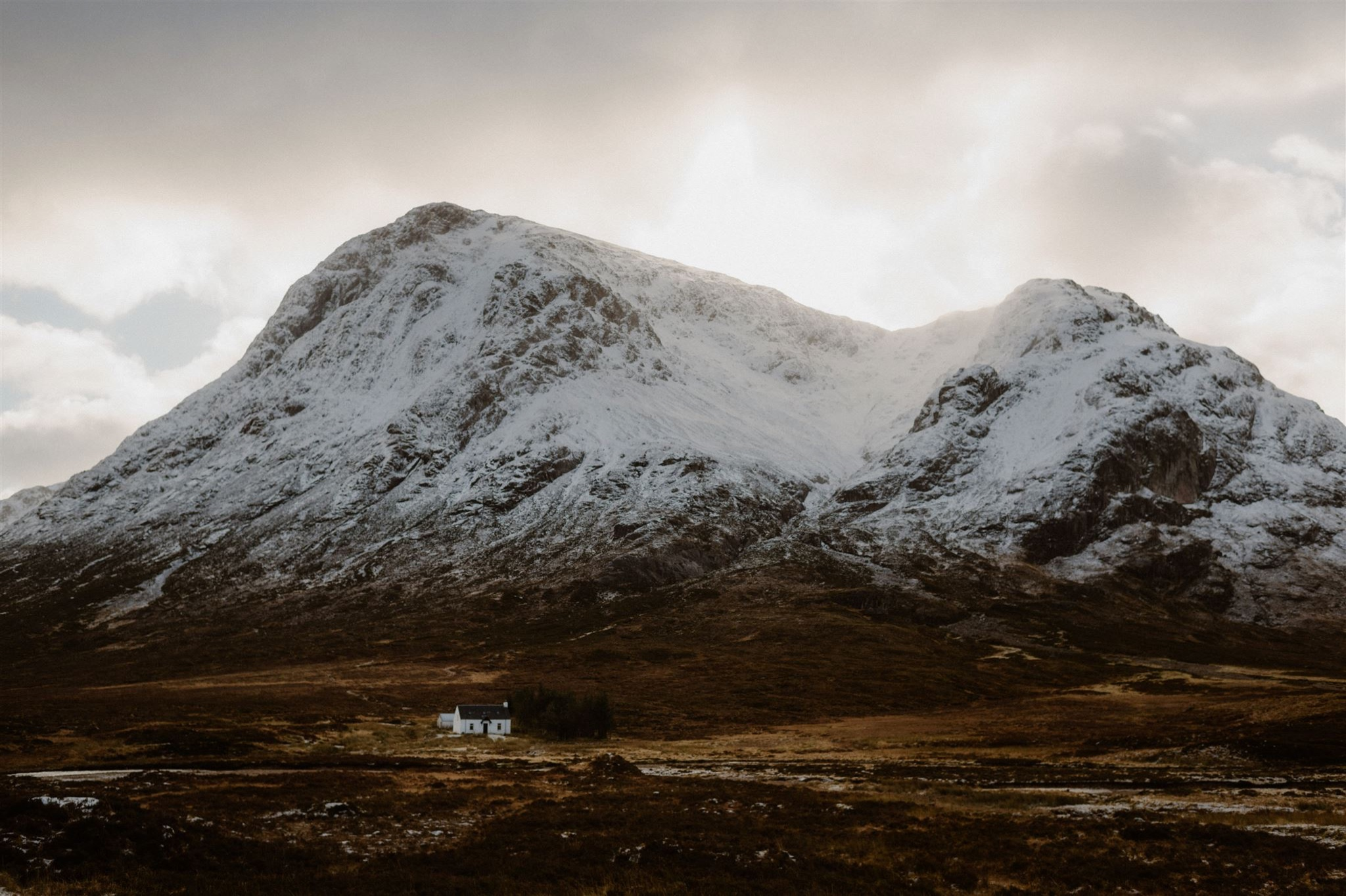 Amazing elopement location in Glencoe