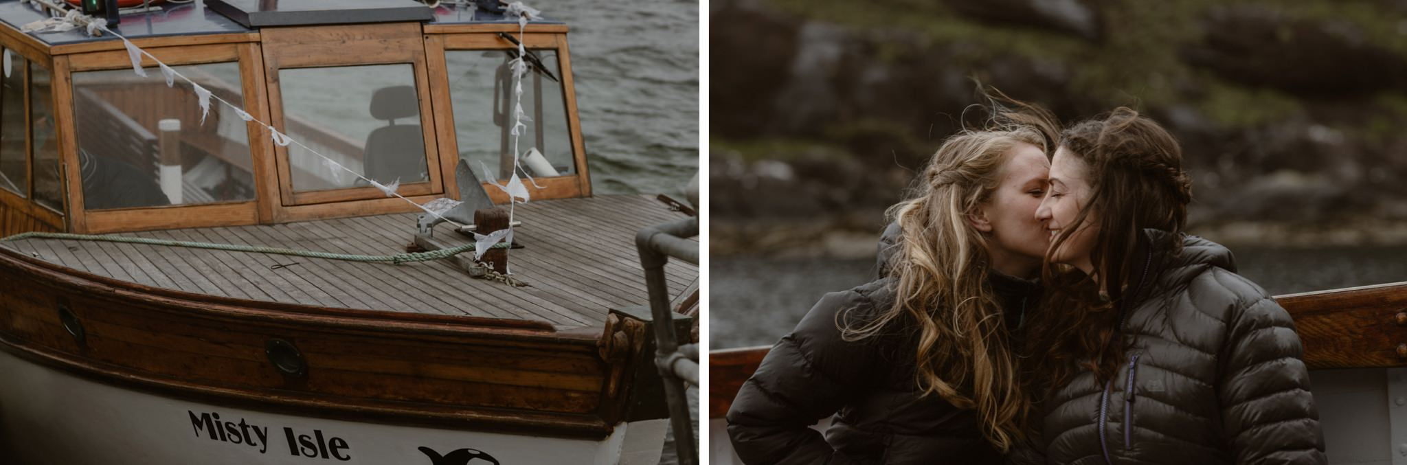 Travelling on the Misty Isle boat company to Loch Coruisk