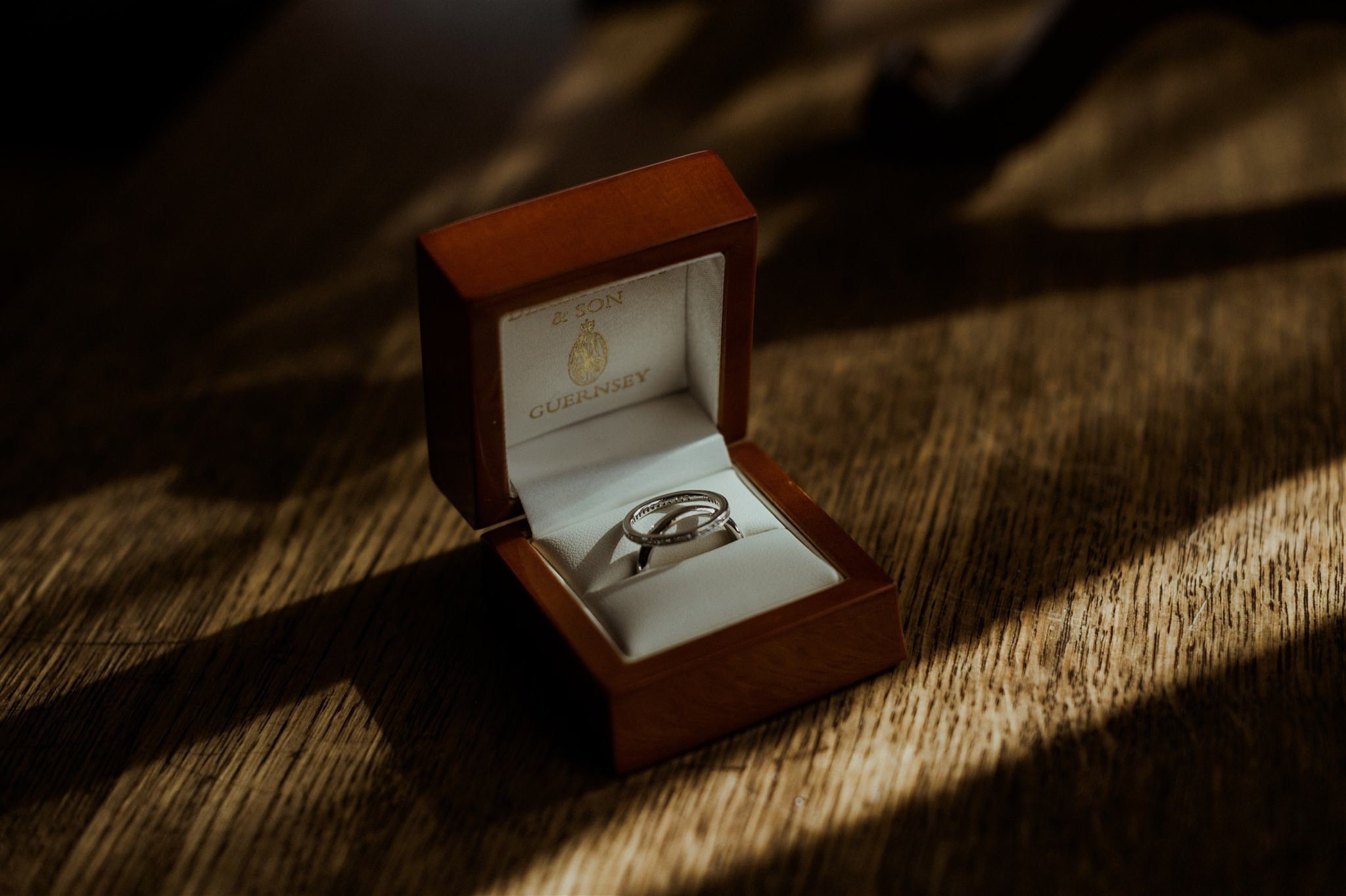 Wedding rings at The Fife Arms Braemar