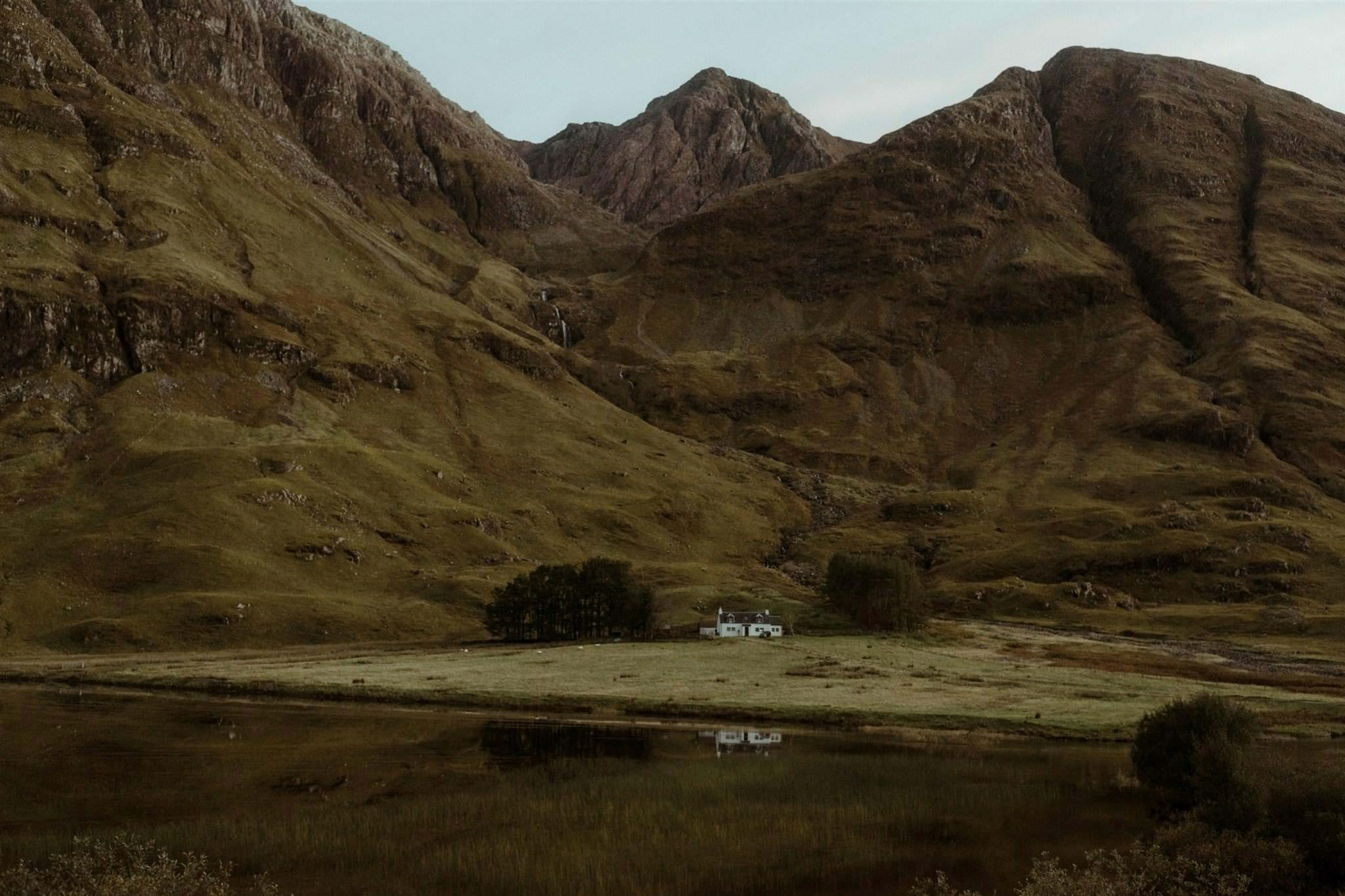 Glencoe Cottage in the Scottish Highlands - one of the best elopement locations in Scotland