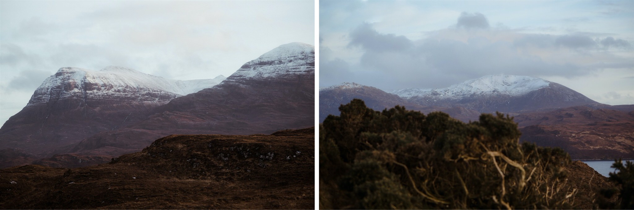 Mountain views in Assynt - on the North Coast 500