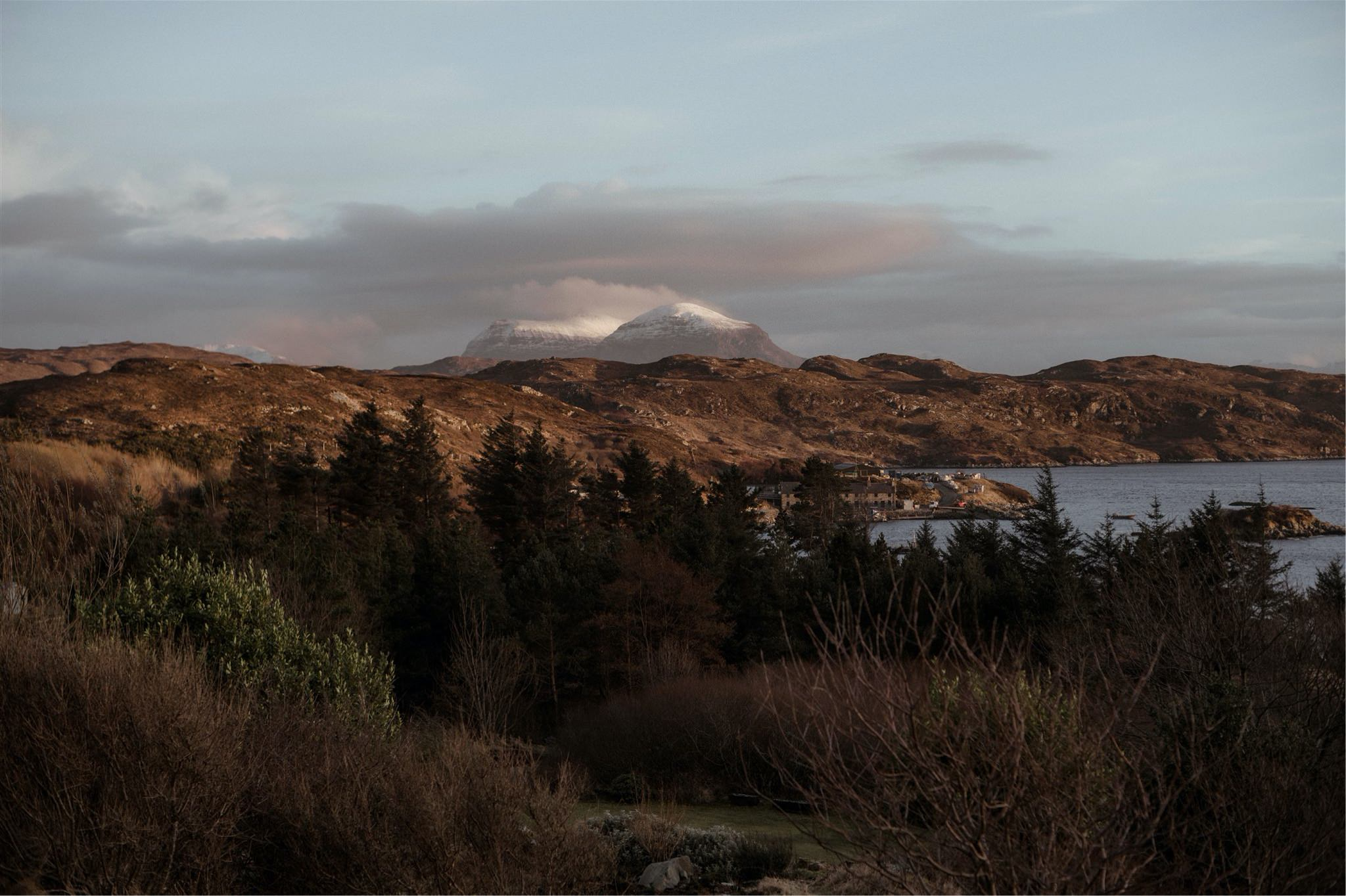 Mountain views in Assynt, Scotland - on the North Coast 500