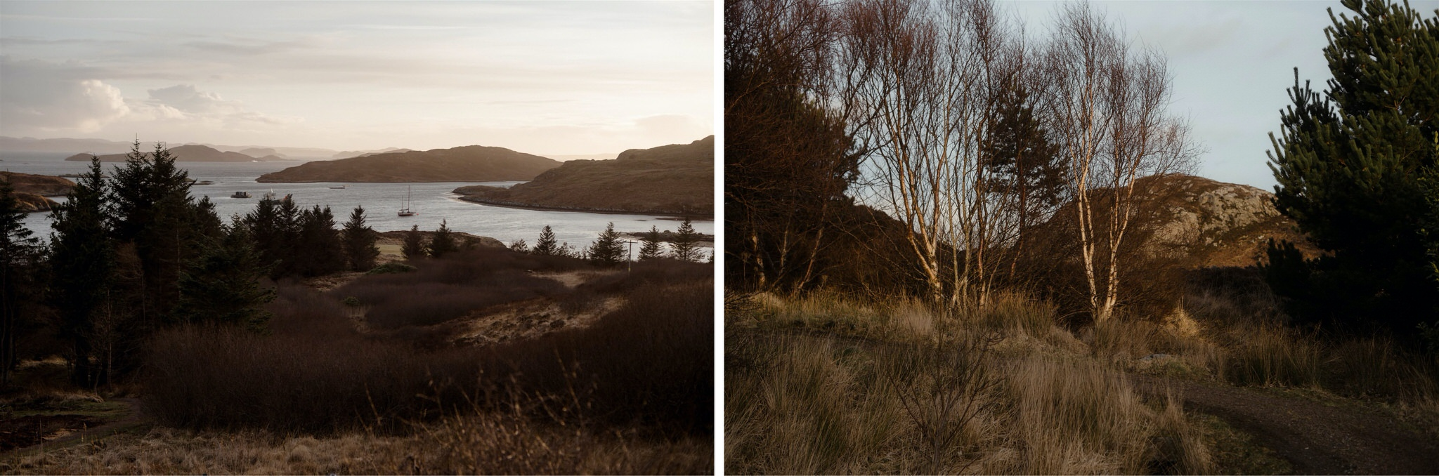 Mountain and sea views in Assynt - on the North Coast 500